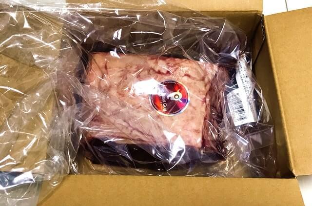 通販でお取り寄せした『サーロインブロック肉1kg』が届いた