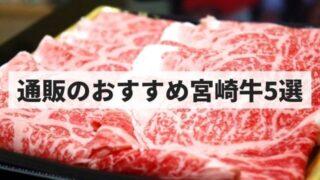 【おすすめ】通販でお取り寄せできる人気の宮崎牛5選【ステーキなど!】