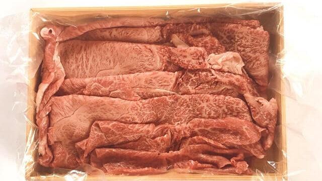 【実食レポ】これはウマい!辰屋の『神戸牛すき焼き肉 肩・肩バラ500g』をお取り寄せしてみた