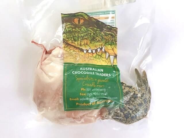 【実食レポ】意外とウマいぞ!ミートガイの『ワニ肉 クロコダイルつめ250g』をお取り寄せしてみた