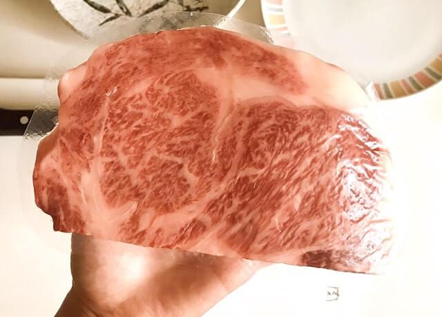 肉のひぐちの『飛騨牛サーロインステーキ165g』