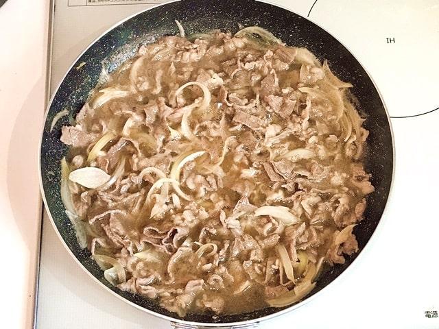 『近江牛プレミアム切り落としミックス1kg』を牛丼に調理